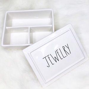 Rae Dunn JEWELRY Ceramic Box